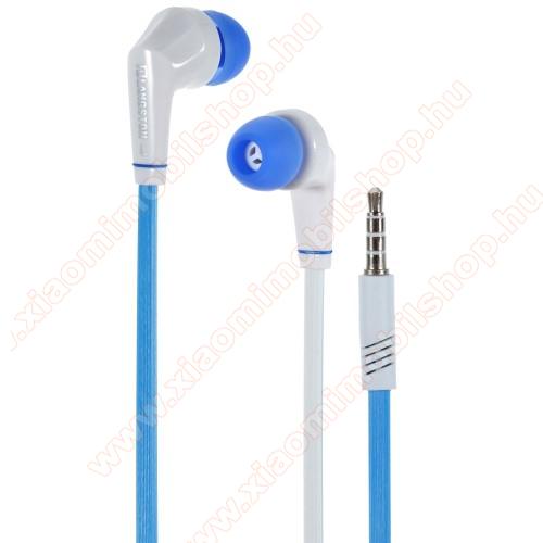 Xiaomi MI-2aLangston JD88 univerzális sztereo headset - 3,5mm jack csatlakozó - FEHÉR / KÉK