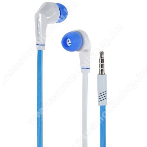 ASUS Zenfone 2 Laser (ZE500KL)Langston JD88 univerzális sztereo headset - 3,5mm jack csatlakozó - FEHÉR / KÉK