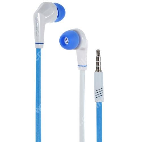 ACER Iconia One 7 B1-730 Langston JD88 univerzális sztereo headset - 3,5mm jack csatlakozó - FEHÉR / KÉK