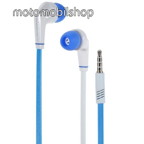 MOTOROLA Moto G XT1032 Langston JD88 univerzális sztereo headset - 3,5mm jack csatlakozó - FEHÉR / KÉK