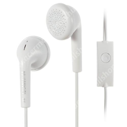 Langston Q1 UNIVERZÁLIS sztereo headset - 3,5mm jack csatlakozó, felvevő gombos, 120cm vezeték - FEHÉR