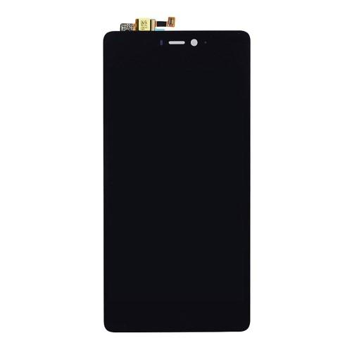 LCD kijelző komplett panel, előlap keret nélkül! - FEKETE - Xiaomi Mi 4c - GYÁRI