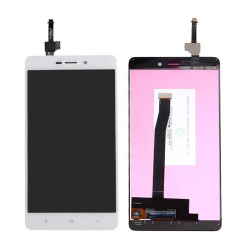 LCD kijelző komplett panel, előlap keret nélkül! - FEHÉR - Xiaomi Redmi 3s - GYÁRI