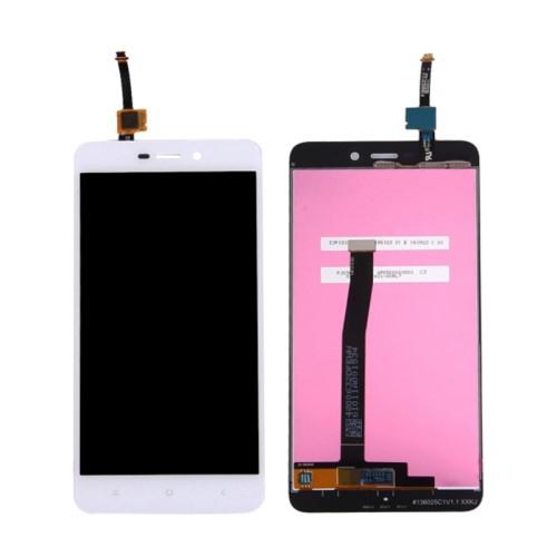 LCD kijelző komplett panel, előlap keret nélkül! - FEHÉR - Xiaomi Redmi 4a - GYÁRI