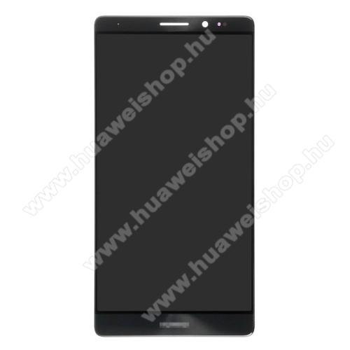 LCD kijelző komplett panel, előlap keret nélkül! - SZÜRKE - HUAWEI Mate 8 - GYÁRI