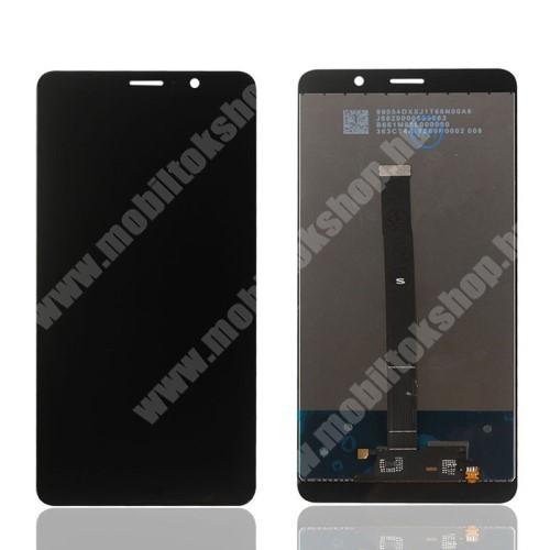 LCD kijelző komplett panel, előlap keret nélkül! - FEKETE - HUAWEI Mate 9 - Utángyártott