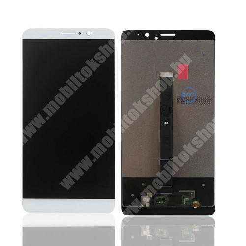 LCD kijelző komplett panel, előlap keret nélkül! - FEHÉR - HUAWEI Mate 9 - Utángyártott
