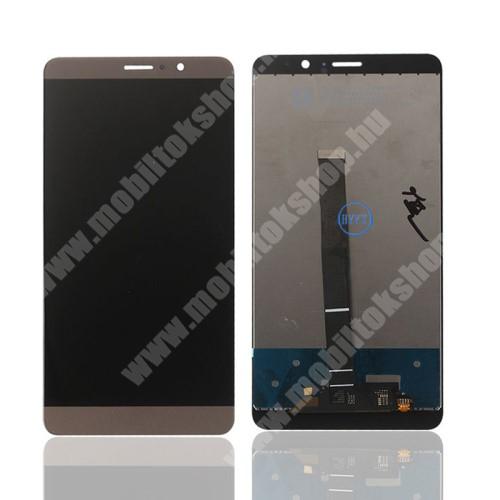 LCD kijelző komplett panel, előlap keret nélkül! - ROSE GOLD - HUAWEI Mate 9 - Utángyártott