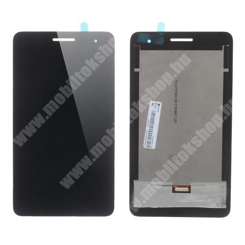 LCD kijelző komplett panel, előlap keret nélkül! - FEKETE - HUAWEI Honor Tablet T1 7.0 (T1-701u) - GYÁRI