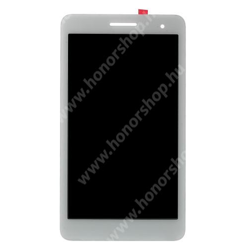 LCD kijelző komplett panel, előlap keret nélkül! - FEHÉR - HUAWEI Honor Tablet T1 7.0 (T1-701u) - GYÁRI