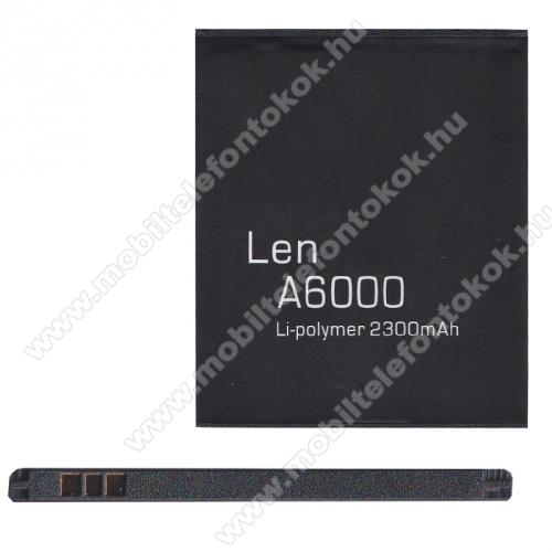 LENOVO A6000 / LENOVO A3860 / LENOVO A3580 / LENOVO A3900 akkumulátor - 2300mAh Li-ION - (BL242 utángyártott)