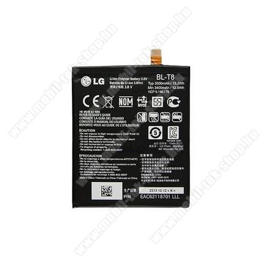 LG BL-T8 akku 3400 mAh LI-ION - LG D950 G Flex - GYÁRI - Csomagolás nélküli