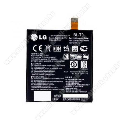 LG BL-T9 akku 2300 mAh LI-ION - LG D821 Nexus 5 - GYÁRI - Csomagolás nélküli