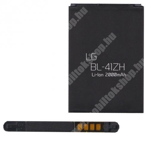 LG Leon (C50) akkumulátor - 2000mAh Li-ION - (BL-41ZH / EAC62378401 utángyártott)