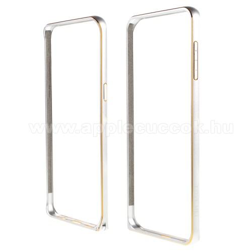 LOVE MEI alum�nium v�d? keret - BUMPER - EZ�ST - SAMSUNG SM-G928 Galaxy S6. Edge +