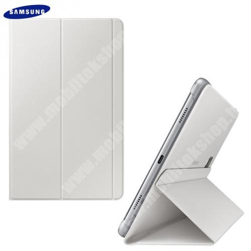Mappa tok (FLIP, oldalra nyíló, asztali tartó funkció) SZÜRKE - EF-BT590PJE - Samsung Galaxy Tab A 10.5 WIFI (2018) SM-T590, Samsung Galaxy Tab A 10.5 LTE (2018) SM-T595 - GYÁRI