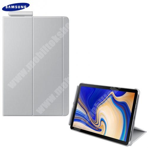 Mappa tok (FLIP, oldalra nyíló, asztali tartó funkció, érintőceruza tartó) SZÜRKE - EF-BT830PJE - Samsung Galaxy Tab S4 10.5 WIFI (SM-T830), Samsung Galaxy Tab S4 10.5 LTE (SM-T835) - GYÁRI