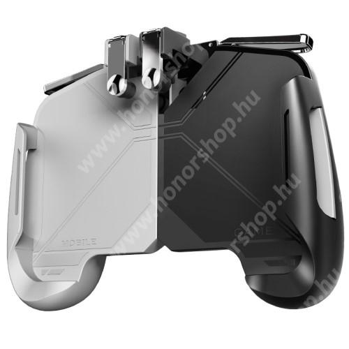 HUAWEI Honor V40 5G MEMO AK16  UNIVERZÁLIS kontroller / Joystick - ravasz FPS játékokhoz, PUBG-hez ajánlott, maximális magasság 82mm, szélesség 173mm - FEHÉR / FEKETE - GYÁRI