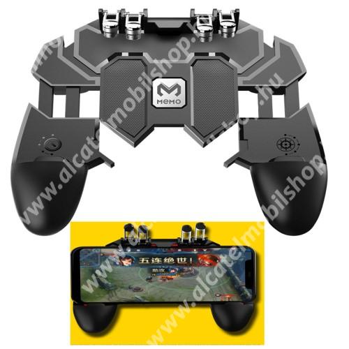 ALCATEL OT-208 MEMO AK66 UNIVERZÁLIS Kontroller / Joystick - ravasz FPS játékokhoz, PUBG-hez ajánlott, 67-90mm-ig nyíló bölcsővel - FEKETE - GYÁRI