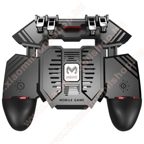 Xiaomi MI-2sMEMO AK77 UNIVERZÁLIS Kontroller / Joystick - ravasz FPS játékokhoz, gamepad, beépített hűtőventilátor, beépített 4000mAh-os akkumulátor tölthető a telefon játék közben, 67-90mm-ig nyíló bölcsővel - FEKETE - GYÁRI