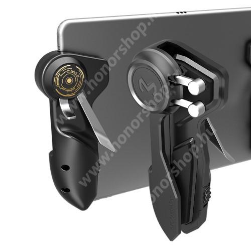 MEMO AKpad6k UNIVERZÁLIS kontroller / Ravasz - 1 pár, FPS játékokhoz, PUBG-hez ajánlott, kompatibilis táblagépekkel - FEKETE - GYÁRI
