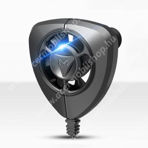 ACER Liquid Z110MEMO FL02 UNIVERZÁLIS telefonhűtő - beépített 2m-es kábellel, tapadókorongos, ~64 x 68 x 17,4 mm - FEKETE
