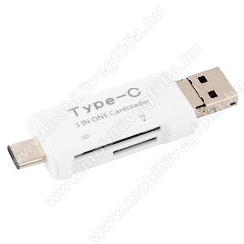 DJI Mavic ProMemóriakártya olvasó - microSD, SD / Type C, 128GB-os kártyág használható - FEHÉR