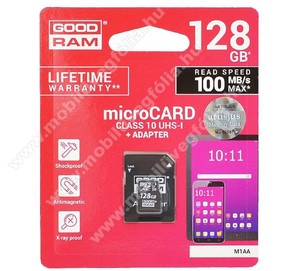 DJI Mavic ProMEMÓRIAKÁRTYA TransFlash 128GB - CLASS 10, microSDHC - Class 10, 100MB/s max, UHS-1 + SD adapter - M1AA-1280R12 - GYÁRI