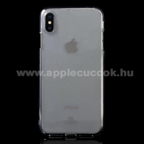 MERCURY GOOSPERY szilikon védő tok / hátlap - ÁTLÁTSZÓ - APPLE iPhone XS Max - GYÁRI