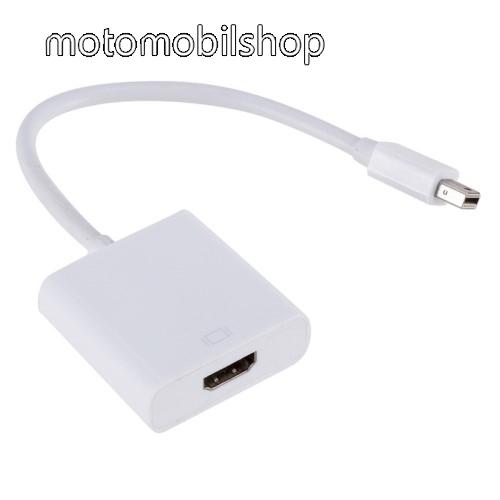 Mini DisplayPort DP - HDMI adapter - 1080p, 30Hz - FEHÉR