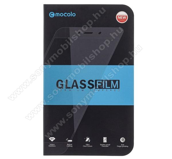 MOCOLO előlap védő karcálló edzett üveg, TELJES KIJELZŐT VÉDI - FEKETE - 9H, 0,33mm, Arc Edge, A teljes felületén tapad! - HUAWEI Honor 20 / HUAWEI Honor 20S / HUAWEI nova 5T / HUAWEI Honor 20 Pro - GYÁRI