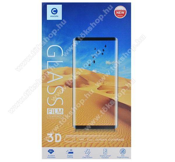 MOCOLO előlap védő karcálló edzett üveg, TELJES KIJELZŐT VÉDI - FEHÉR - 3D, 9H, 0,33mm, Arc Edge, A teljes felületén tapad! - APPLE iPhone 7 Plus / APPLE iPhone 8 Plus - GYÁRI