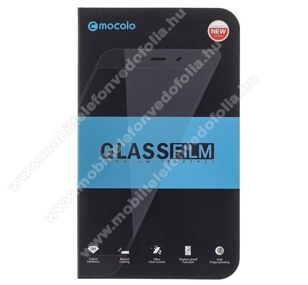 APPLE iPhone 7MOCOLO előlap védő karcálló edzett üveg, TELJES KIJELZŐT VÉDI - FEKETE - 9H, 0,33mm, Arc Edge, A teljes felületén tapad! - APPLE iPhone SE (2020) / APPLE iPhone 7 / APPLE iPhone 8 / APPLE iPhone 6 / APPLE iPhone 6S - GYÁRI