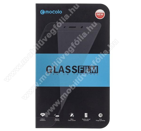 MOCOLO előlap védő karcálló edzett üveg, TELJES KIJELZŐT VÉDI - FEKETE - 9H, 0,33mm, Arc Edge, A teljes felületén tapad! - APPLE iPhone SE (2020) / APPLE iPhone 7 / APPLE iPhone 8 / APPLE iPhone 6 / APPLE iPhone 6S - GYÁRI