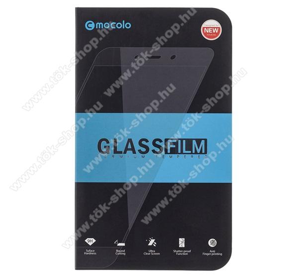 MOCOLO előlap védő karcálló edzett üveg, TELJES KIJELZŐT VÉDI - FEHÉR - 9H, 0,33mm, Arc Edge, A teljes felületén tapad! - APPLE iPhone SE (2020) / APPLE iPhone 7 / APPLE iPhone 8 / APPLE iPhone 6 / APPLE iPhone 6S - GYÁRI