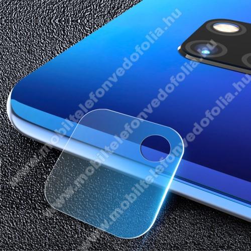 MOCOLO kameralencsevédő karcálló edzett üveg, 9H, 0,33mm, Arc Edge - HUAWEI Mate 20 Pro - GYÁRI