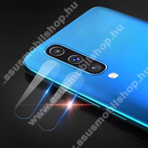 MOCOLO kameravédő üvegfólia - 2db, törlőkendővel, 9H - SAMSUNG SM-A307F Galaxy A30s / SAMSUNG SM-A505F Galaxy A50 / SAMSUNG Galaxy A50s - GYÁRI