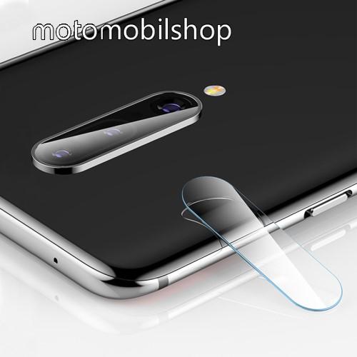MOCOLO kameravédő üvegfólia - 2db, törlőkendővel, 9H - OnePlus 7 Pro - GYÁRI