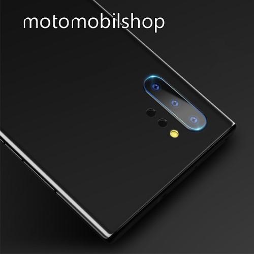 MOCOLO kameravédő üvegfólia - Ultra Clear, 1db - SAMSUNG Galaxy Note10 Plus (SM-N975F) / SAMSUNG Galaxy Note10 Plus 5G (SM-N976F) - GYÁRI