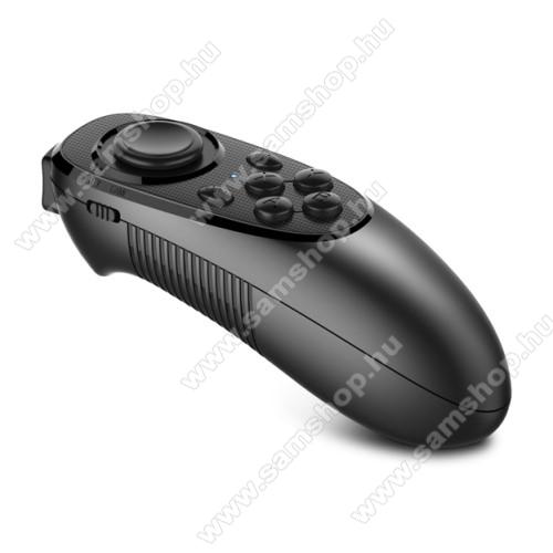 MOCUTE-052 UNIVERZÁLIS Kontroller / Joystick - VR szemüvegekhez ajánlott, bluetooth 3.0, 2x AAA elemmel működik (NEM TARTOZÉK), kompatibilis okostelefonokkal, PC, és táblagépekkel is! - FEKETE - 116mm x 45mm x 13.5mm