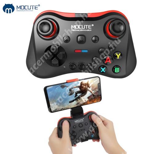 ACER Liquid Z3 MOCUTE 056 UNIVERZÁLIS Kontroller / Joystick - max 85mm-ig nyíló bölcsővel, Bluetooth 3.0 csatlakozás, beépített 400mAh akkumulátor, letölthető app, microUSB töltőport - FEKETE