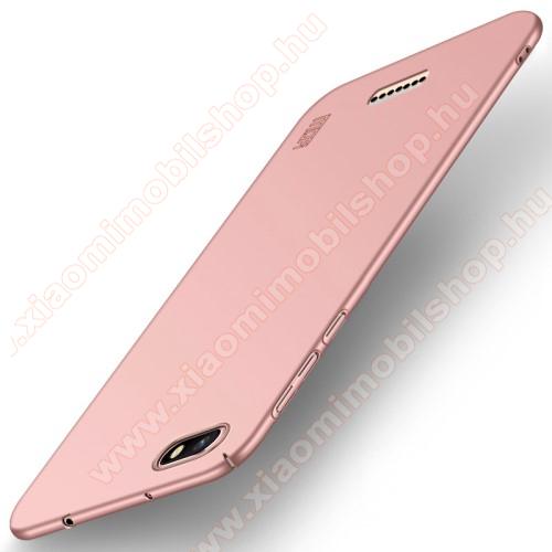 MOFI SHIELD SLIM műanyag védő tok / hátlap - 0,9mm vékony! - ROSE GOLD - Xiaomi Redmi 6A - GYÁRI