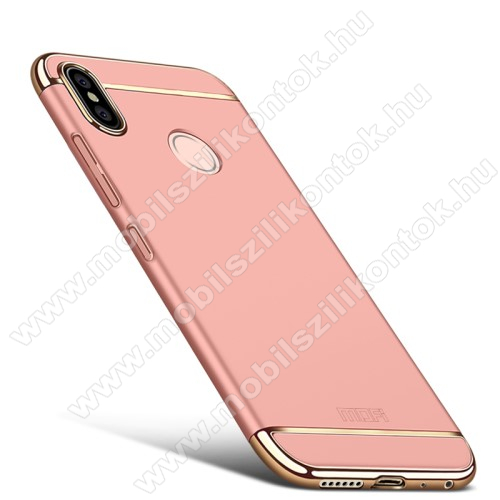 MOFI SHIELD SLIM műanyag védő tok / hátlap - 0,9mm vékony! - ROSE GOLD - Xiaomi Redmi Note 5 Pro (Global version) / Xiaomi Redmi Note 5 (Global version) - GYÁRI