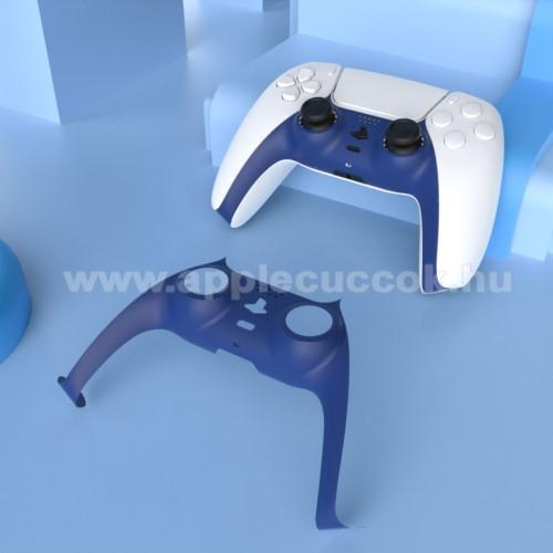 Műanyag burkolat SONY PS5 kontrollerhez - ÉJKÉK