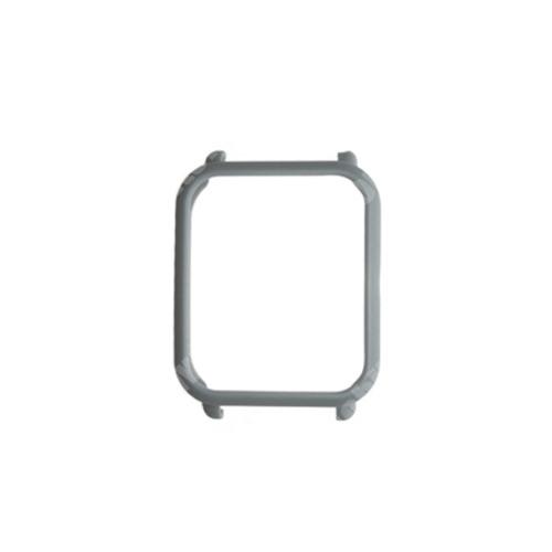 Műanyag védő keret - BUMPER - SZÜRKE - Xiaomi Amazfit Bip / Huami Amazfit Smart Watch Youth Edition