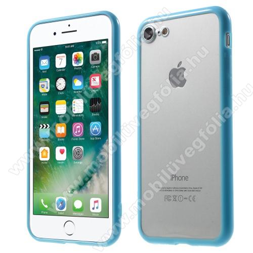 Műanyag védő tok / áttetsző hátlap - VILÁGOSKÉK - szilikon szegély - APPLE iPhone SE (2020) / APPLE iPhone 7 / APPLE iPhone 8