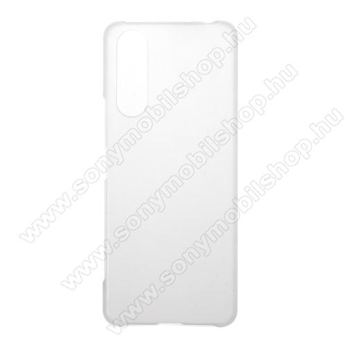 Műanyag védő tok / hátlap - ÁTLÁTSZÓ - Hybrid Protector - SONY Xperia 5 II (2020)