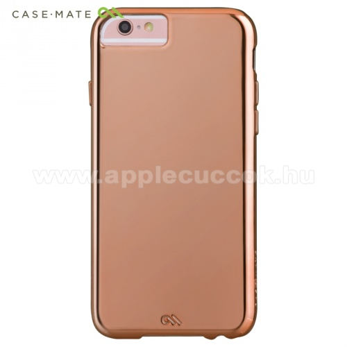 Műanyag védő tok/hátlap - CM033858 - CASE-MATE - Barely There - RÓZÉARANY - GYÁRI - APPLE iPhone 6s Plus