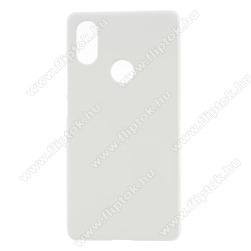 Műanyag védő tok / hátlap - FEHÉR - Hybrid Protector - Xiaomi Mi 8 SE
