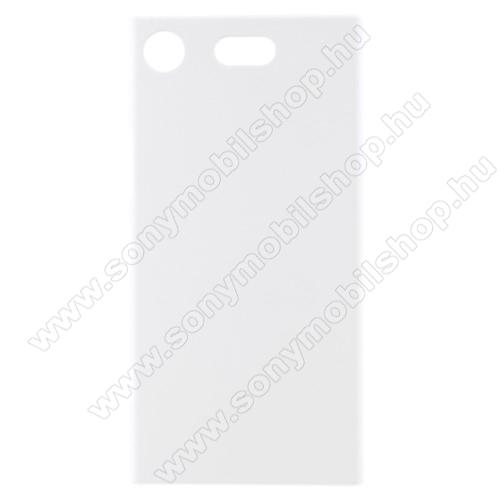 Műanyag védő tok / hátlap - FEHÉR - Hybrid Protector - Sony Xperia XZ1 Compact